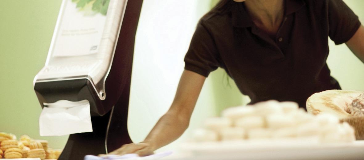 Crown Casino reduces napkin wastage
