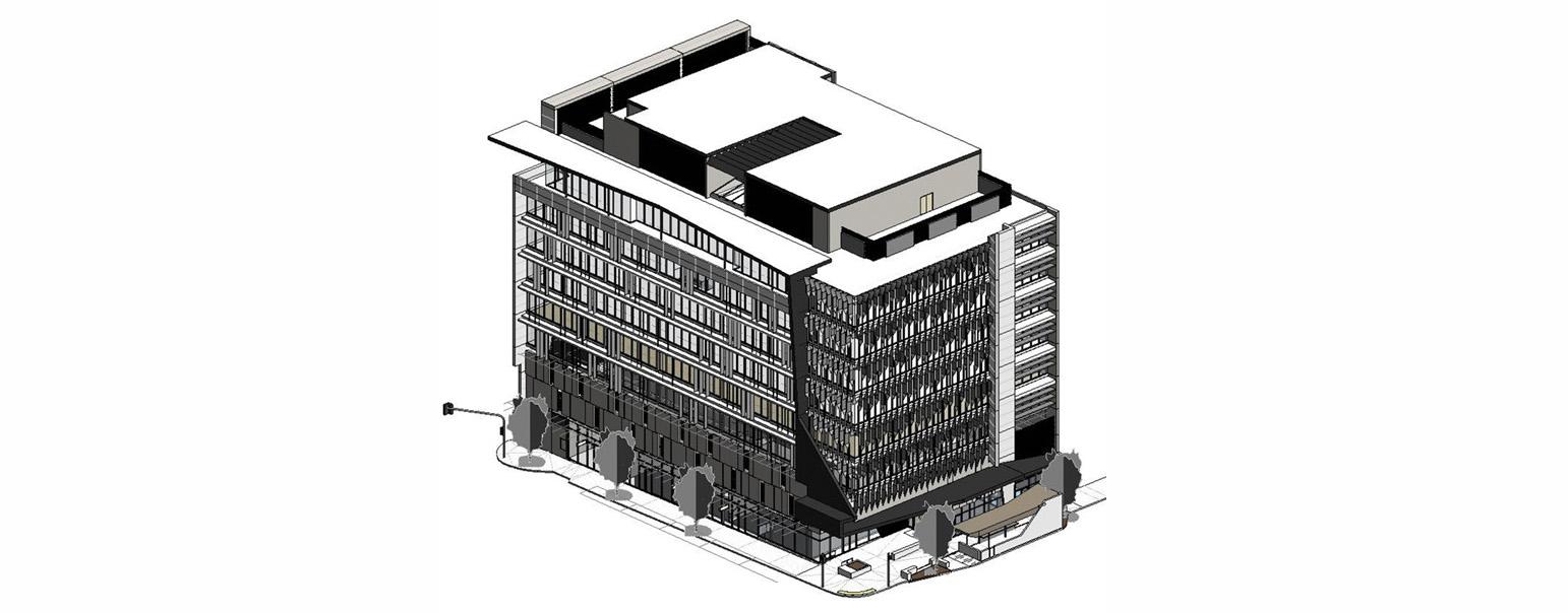 BIM for FM architectural model construction documentation (C) Arkhefield