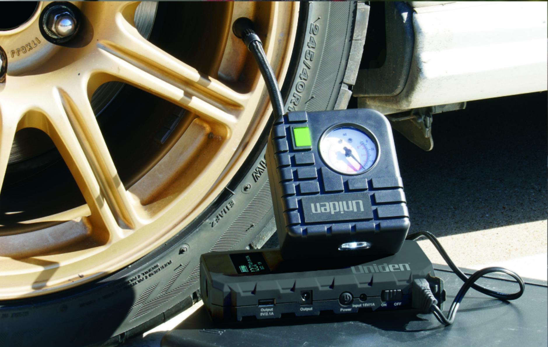 New portable jump-start kit from Uniden